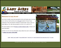 Lazy Acres Ranch and RV Park, Jacksonville, Texas